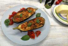 barchette di melanzane con vastedda dop